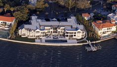 Derek Jeter's 'St. Jetersburg' has strict 'no cameras' policy- Wow!--Derek Jeter's Tampa, Florida home! Tampa Florida, Florida Home, Florida Mansion, I Love House, Expensive Houses, Derek Jeter, Celebrity Houses, Things To Come, Mansions