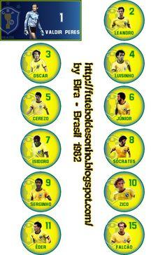 Futebol de Sonho: Brasil 1982