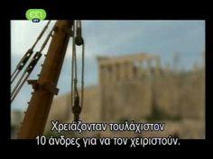 The construction of Parthenon Parthenon, Acropolis, Shape Pictures, Ancient Civilizations, Ancient Greek, Greece, Beautiful Places, Statue, Construction