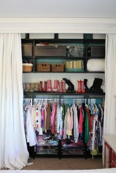 10 Closet Spaces and How To Organize Them! {organize} - Tip Junkie