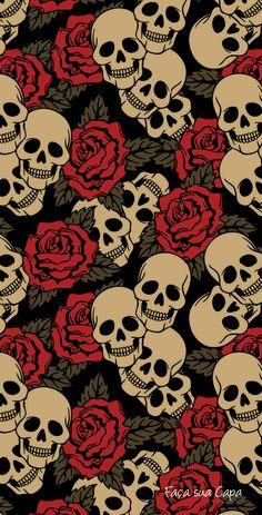 Skull skull wallpaper for android Dark Wallpaper, Tumblr Wallpaper, Mobile Wallpaper, Wallpaper Backgrounds, Screen Wallpaper, Phone Backgrounds, Beautiful Wallpaper, Retro Wallpaper, Painting Wallpaper