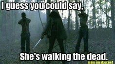 Michonne. Walking Dead. Love her