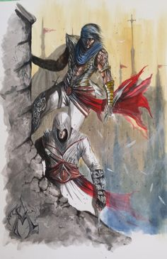 Prince of Persia/Assassins Creed by Anthony Darr