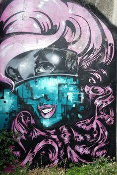 Auckland, NZ City Art, Auckland, Graffiti, Street Art, Anime, Photography, Fictional Characters, Photograph, Fotografie