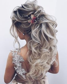 20 Best Formal / Wedding Hairstyles to Copy in 2019 - Frisuren - Wedding Hairstyles For Long Hair, Wedding Hair And Makeup, Diy Hairstyles, Wedding Updo, Hairstyles Pictures, Hairstyles 2018, Bridal Hairstyles, Formal Hairstyles, Hair Styles For Wedding