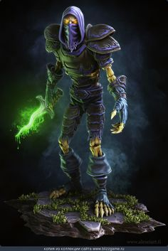 Undead Rogue by Alexander Alexei » Галерея » World of Warcraft