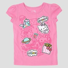 Baby Girls' Hello Kitty T-Shirt - Pink 12M, Infant Girl's, Size: 12 Months