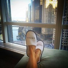 A relaxing weekend at Trump International Hotel & Tower Chicago Trump International Hotel, Bold Fashion, Ivanka Trump, Autumn Winter Fashion, Espadrilles, Toms, Chicago, Luxury, Sneakers