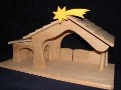 **Krippe Weihnachtskrippe Waldorf, für Ostheimer Figuren NEU ** | eBay
