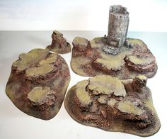 How to Make Wargaming Terrain - Rocky Hills — TableTop Terraformers - Warhammer Terrain, 40k Terrain, Game Terrain, Warhammer 40k, Wargaming Table, Wargaming Terrain, Minis, Miniature Bases, Bjd