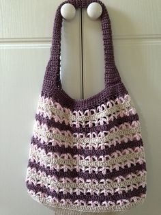 Here's my version of this wonderful pattern http://veryberryhandmade.co.uk/2012/06/06/crochet-market-bag/