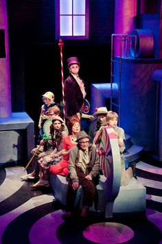 CHARLIE AND THE CHOCOLATE FACTORY at the Marcus Center through April 1!    Photo by Ross Zentner - Oompa Cast