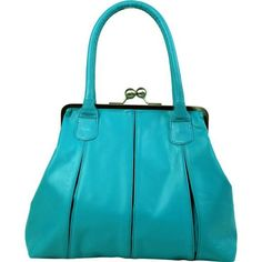 "Sticks and Stones ""Marseille Bag"" (Turquoise)"