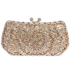 ddde7f0b8f Digabi Exquisite Design Luxury Colorful Flowers Pattern Rectangle Shape women  Crystal Evening Clutch Bags Review