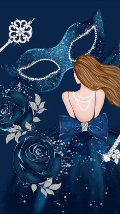 By Artist Unknown. Teal Art, Of Wallpaper, Wallpaper Backgrounds, Shades Of Blue, Girly Things, Mystic, Disney Characters, Fictional Characters, Disney Princess