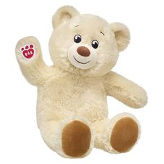 Lil' Pudding Cub | Cream Teddy Bear | Build-A-Bear Teddy Bear Images, Teddy Bear Pictures, Bear Pics, Bear Wallpaper, Images Wallpaper, Valentines Day Teddy Bear, Teddy Bear Gifts, Teddy Bears, Happy Teddy Bear Day