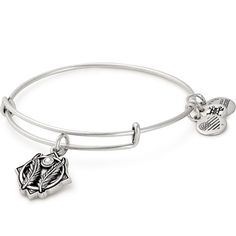 Shop for the Godspeed Charm Bangle from www.ALEXANDANI.com today! The Godspeed expression bestows good fortune and safety, with God's grace.