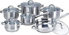 Heim Concept 12-Piece Stainless Steel Cookware Set with Glass Lid, Silver Heim Concept http://www.amazon.com/dp/B00RYQTMOS/ref=cm_sw_r_pi_dp_BxUewb14NGAC9