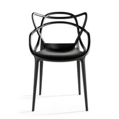 Loooove the lines of this chair. Kartell Masters Chair Black by Philippe Starck with Eugeni Quitllet