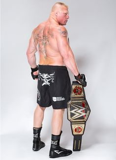 WWE World Champion Brock Lesnar