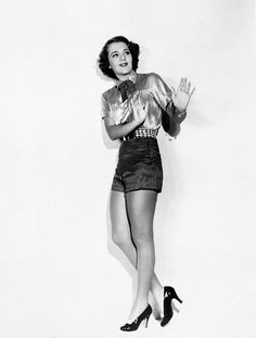 Ruby Keeler,once the faster tapper in the world....