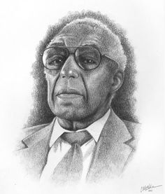 Check out these awesome hand-drawn portraits of notable African-American men and women by Christian Elden. As Christian mentions, what started out as a set of 5 images for a church bulletin series has grown in number to 30, and they've been used for everything from educational books to websites to TV spots. Take a look at some below