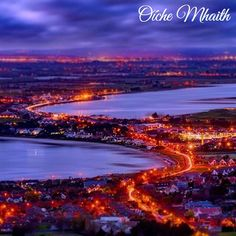 Good Night From Ireland  A fantastic view of Dublin from @mredgarallan