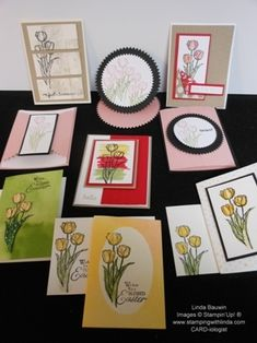 Stamps-in-the-Mail The stamp class that comes right to your door.   Linda Bauwin CARD-iologist Helping you create cards from the heart
