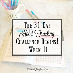 """Welcome to the""""31-Day Habit Tracking Challenge""""! If you have followed along for some of my other series with challenges, then you know that I love to start these challenges out in prayer, by lighting a candle every morning in my kitchen. These challenges will be no different. We can try to muster a lot of self-will to accomplish our goals but I've found this to be true, """"the spirit is willing but the flesh is weak."""" (Matthew 26:41)"""