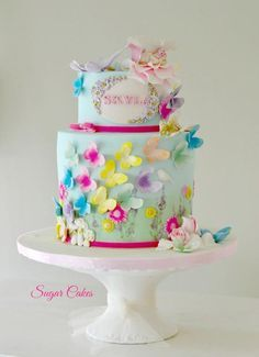"""""""Flying Butterflies"""" by Sugar Cakes"""