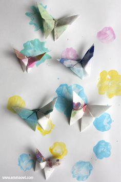 Origami Butterflies-09