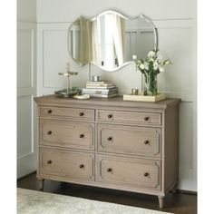 "MASTER BEDROOM: DRESSER Isabella Small Chest | Ballard Designs 54""W X 20""D X 36.25""H $1,299 RETAIL"
