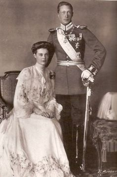Wilhelm and Cecilie of Prussia