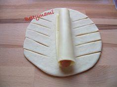 Sajtos virsli becsomagolva – Betty hobbi konyhája Plastic Cutting Board, Rum, Dairy, Cheese, Food, Hoods, Meals, Rome