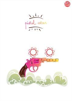 pistol cetar | aris shandi