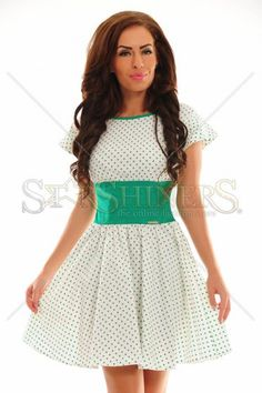 PrettyGirl Outburst Green Dress