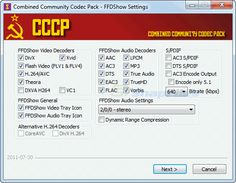 The CCCP attempts to be as unintrusive on your system as possible.    The CCCP was created to unify the filter packs provided by several groups into a single reliable pack capable of decoding anime from practically any group without breaking compatibility with anything else. The number of supporting groups grew quickly, and the list now includes: