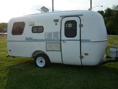 Casita Travel Trailer Camper Bathroom Scamp Burro Fiberglass AC FRIG - $5200
