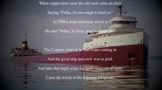 The Wreck of the Edmund Fitzgerald - Gordon Lightfoot (HD w Lyrics)