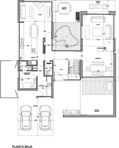 Home Design Drawings Francisco Marconi Modern House Plans, Small House Plans, Modern House Design, Post Modern Architecture, Architecture Details, Tree House Plans, Casa Patio, House Drawing, Villa Design