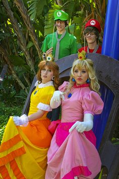 Mario Cosplay, Cute Cosplay, Best Cosplay, Cosplay Girls, Cosplay Costumes, Princess Peach Costume, Super Princess Peach, Princess Daisy, Super Mario Bros