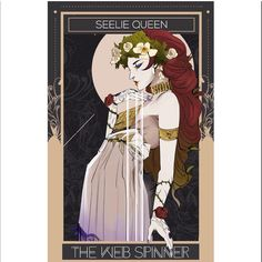 "The Seelie Queen by @aegisdea … A villain returns in Lord of Shadows. ""It is a weakness of your kind, to regard death as so final,"" said the Queen… LoS 5/23/17"