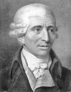 "Franz Joseph Haydn (31 March 732 – 31 May 1809); one of the most prominent and prolific composers of the Classical period; ""Father of the Symphony"" A lifelong resident of Austria."