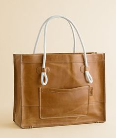 Mariner leather tote