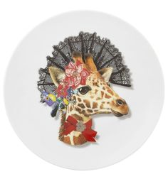Vista Alegre Christian Lacroix Love Who You Want Dessert Plate Do¤a Jirafa MPN: 21121376