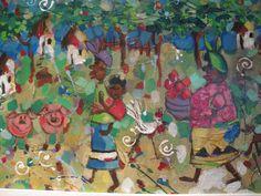 part of Painting..Makaranga Lodge (Ladies Loo)