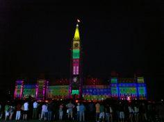 Mosaika - Ottawa's Sound and Light Show  #DiscoverOntario