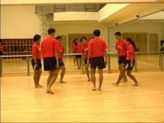 Folk Dance - Seven Jumps (Denmark) - YouTube