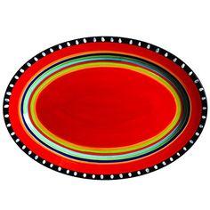"Gibson Elite Pueblo Springs 14"" Handpainted Platter, Oval... https://www.amazon.com/dp/B00XCWFBZ2/ref=cm_sw_r_pi_dp_x_V6iGzbZ3DX36X"