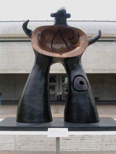 Joan Miro sculpture @ Kimball Art Museum, Ft. Worth TX
